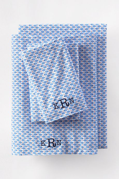 Cotton Knit Printed Pillowcases