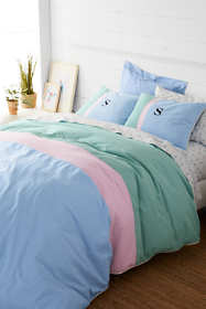 Oxford Colorblock Duvet Cover