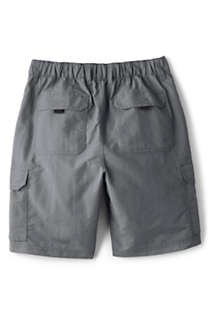 "Men's Big and Tall 9"" Outrigger Quick Dry Cargo Swim Trunks, Back"