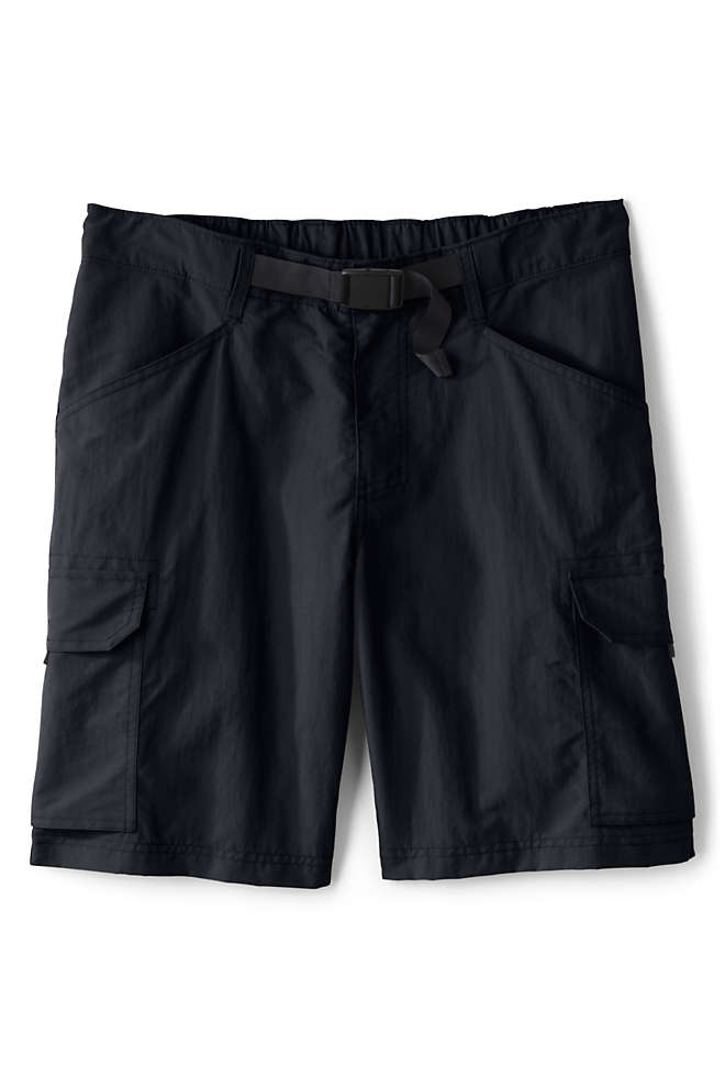 "Men's Big and Tall 9"" Outrigger Quick Dry Cargo Swim Trunks, Front"