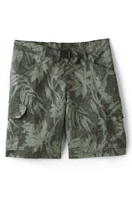 "Men's Print 9"" Outrigger Quick Dry Cargo Swim Trunks"