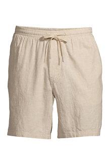 Shorts im Leinen/Baumwollmix für Herren