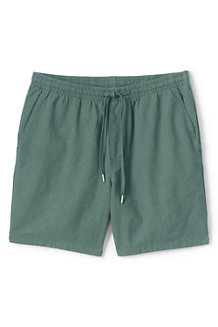Men's Linen/Cotton Deck Shorts
