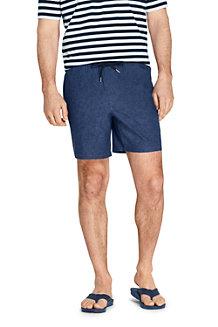 Men's Linen/Cotton Deck Shorts