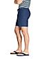 Short en Coton et Lin Taille Elastiquée, Homme Stature Standard