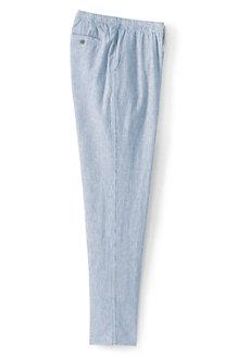 Lange Hose im Leinen/Baumwollmix für Herren