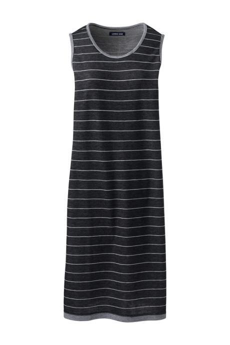 Women's Sleeveless Reversible Knee Length Tank Dress