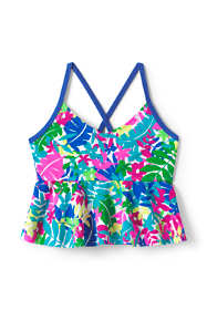 Little Girls Flounce Tankini Top