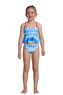 Little Girls Flounce Tankini Top, alternative image