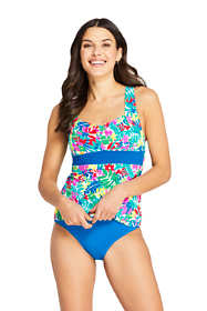 Women's Sweetheart Tankini Top Swimsuit Adjustable Straps
