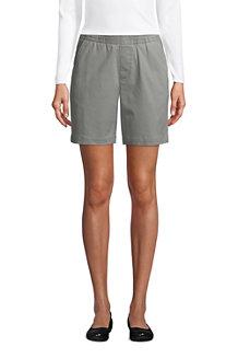 Chino-Shorts mit Dehnbund, 18 cm für Damen