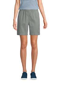 """Women's Pull On 7"""" Chino Shorts"""