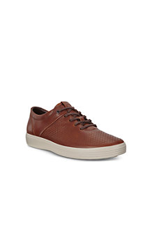 Men's ECCO Soft 7 Leather Trainers