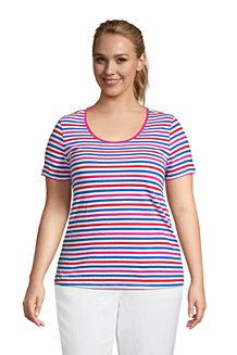 Shirt aus Leinenmix für Damen