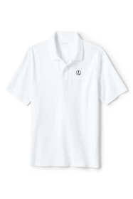 Men's Polo Shirt with Lighthouse Logo Supima Cotton Short Sleeve