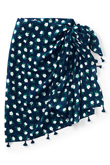 Women's Draper James x Lands' End Tasselled Scarf Sarong