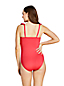 Women's Plus Draper James x Lands' End Ruffle V-neck One Piece Swimsuit