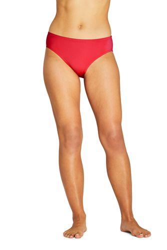 Draper James x Lands' End Bas de Bikini Taille Mi-Haute, Femme Grande Taille