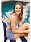 Draper James x Lands' End Haut de Bikini Brassière, Femme Stature Standard
