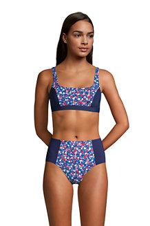 Women's Draper James x Lands' End Square Neck Bralette Bikini Top