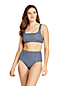 Women's Draper James x Lands' End Square Neck Bralette Bikini Top