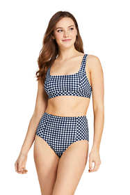 Draper James x Lands' End Women's Square Neck Bralette Bikini Top