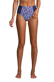 Draper James x Lands' End Bas de Bikini Taille Haute, Femme