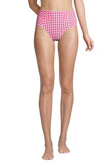 Draper James x Lands' End High Waist Retro Bikinihose für Damen