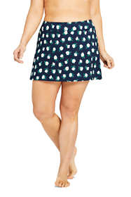 Draper James x Lands' End Women's Plus Size Swim Skirt Swim Bottoms