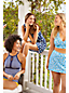 Women's Plus Draper James x Lands' End Tummy Control Wrap Swim Dress