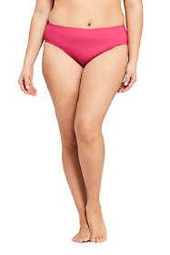 Draper James x Lands' End Women's Plus Size Mid Waist Bikini Bottoms