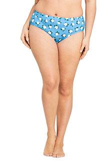 Draper James x Lands' End Bas de Bikini Taille Mi-Haute, Femme