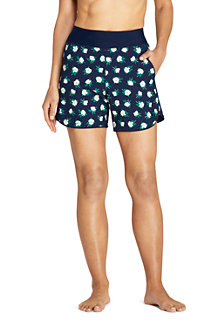 Draper James x Lands' End Short de Bain Taille Confort, Femme