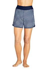 "Draper James x Lands' End Women's 5"" Quick Dry Board Shorts Swim Cover-up Shorts"