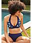 Women's Draper James x Lands' End Halter Neck Bikini Top