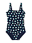 Draper James x Lands' End Maillot 1 Pièce Tugless, Femme Torse Long