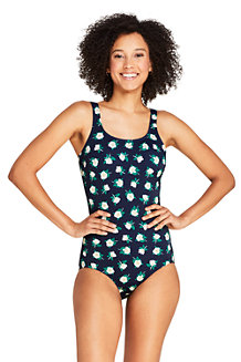 Draper James x Lands' End Maillot 1 Pièce Tugless, Femme