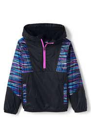 Little Kids Active Fleece Lined Pullover Jacket