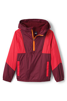 Kids' Active Fleece Lined Pullover Jacket