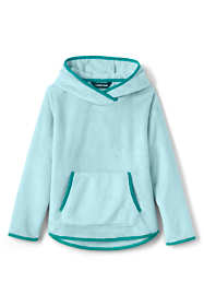 Toddler Girls Softest Fleece Solid Hoodie