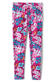 Little Girls Tough Cotton Novelty Ankle Leggings
