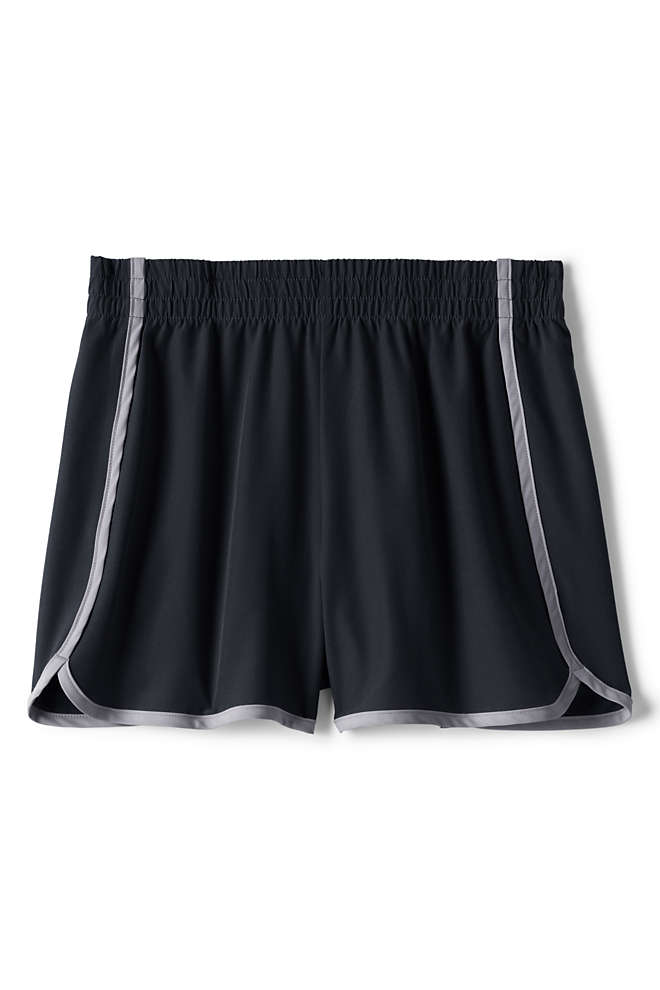 Girls Active Woven Shorts, Front