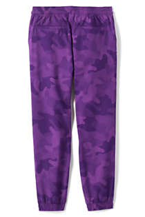 Little Girls Stretch Woven Jogger, Back