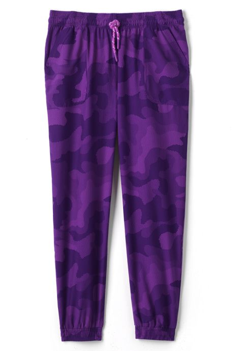Girls Plus Size Stretch Woven Jogger