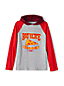 Boys' Hooded Graphic Raglan T-Shirt