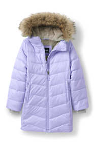 Girls Winter Fleece Lined Down Alternative ThermoPlume Coat