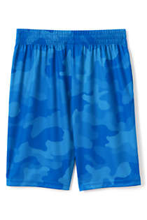 Little Boys Pattern Active Shorts, Back