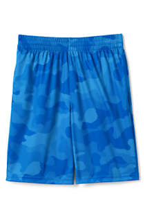 Little Boys Pattern Active Shorts, Front