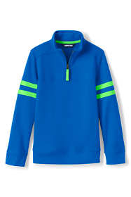 Kids Husky-Plus Long Sleeve Solid Quarter Zip