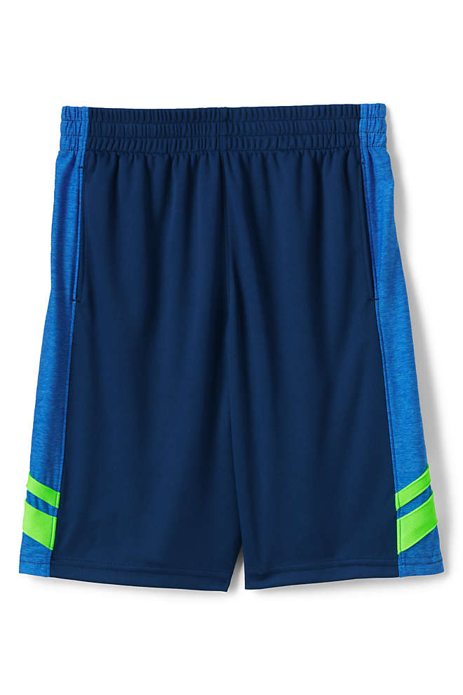 Boys Colorblock Active Shorts, Front